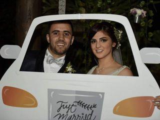 El matrimonio de Caro y Mate