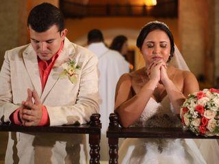 El matrimonio de Xedis y Sergio