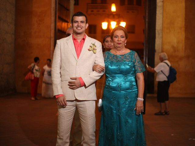 El matrimonio de Sergio y Xedis en Cartagena, Bolívar 12