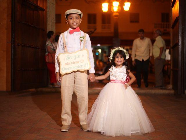 El matrimonio de Sergio y Xedis en Cartagena, Bolívar 13