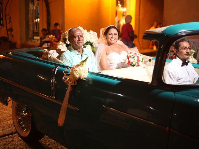 El matrimonio de Sergio y Xedis en Cartagena, Bolívar 14
