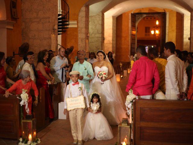 El matrimonio de Sergio y Xedis en Cartagena, Bolívar 15