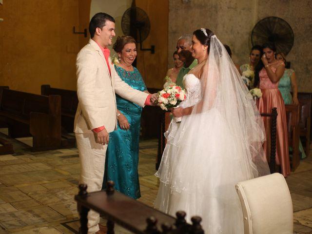 El matrimonio de Sergio y Xedis en Cartagena, Bolívar 16
