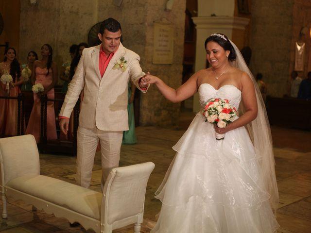 El matrimonio de Sergio y Xedis en Cartagena, Bolívar 17