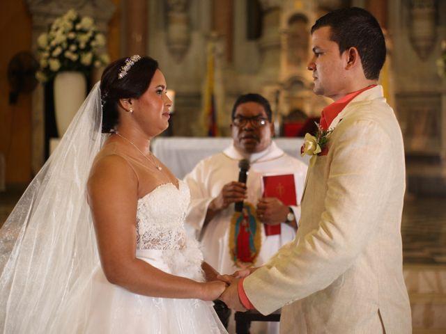 El matrimonio de Sergio y Xedis en Cartagena, Bolívar 19