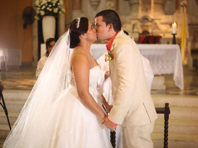 El matrimonio de Sergio y Xedis en Cartagena, Bolívar 21