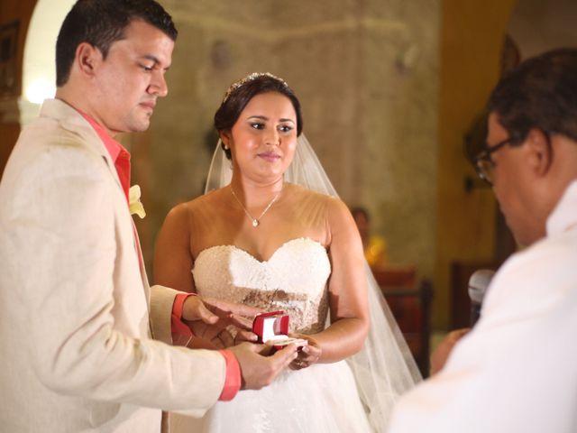 El matrimonio de Sergio y Xedis en Cartagena, Bolívar 22