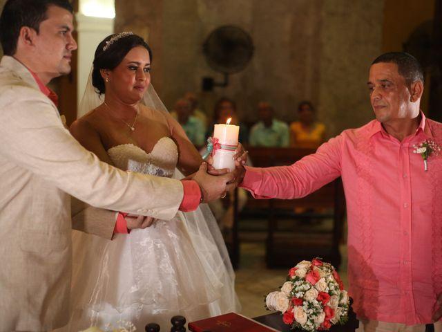 El matrimonio de Sergio y Xedis en Cartagena, Bolívar 23