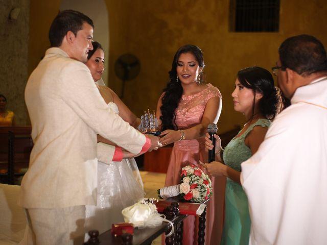 El matrimonio de Sergio y Xedis en Cartagena, Bolívar 25