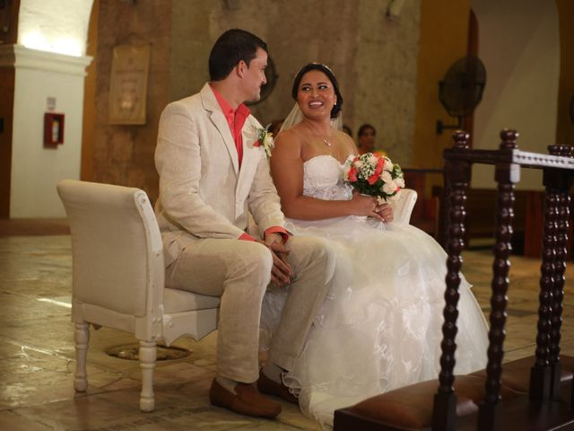 El matrimonio de Sergio y Xedis en Cartagena, Bolívar 26