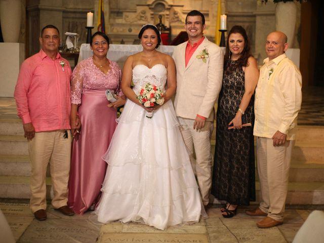 El matrimonio de Sergio y Xedis en Cartagena, Bolívar 28