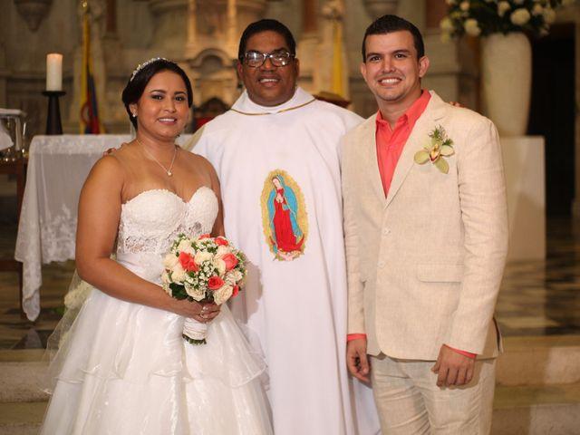 El matrimonio de Sergio y Xedis en Cartagena, Bolívar 29