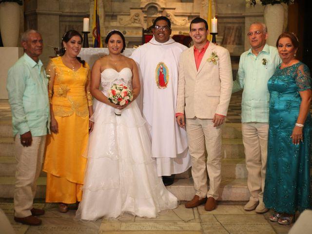El matrimonio de Sergio y Xedis en Cartagena, Bolívar 30