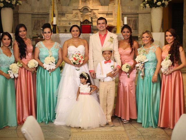 El matrimonio de Sergio y Xedis en Cartagena, Bolívar 31