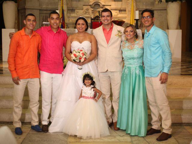 El matrimonio de Sergio y Xedis en Cartagena, Bolívar 32