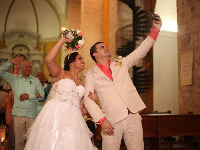 El matrimonio de Sergio y Xedis en Cartagena, Bolívar 33