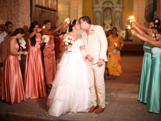 El matrimonio de Sergio y Xedis en Cartagena, Bolívar 34