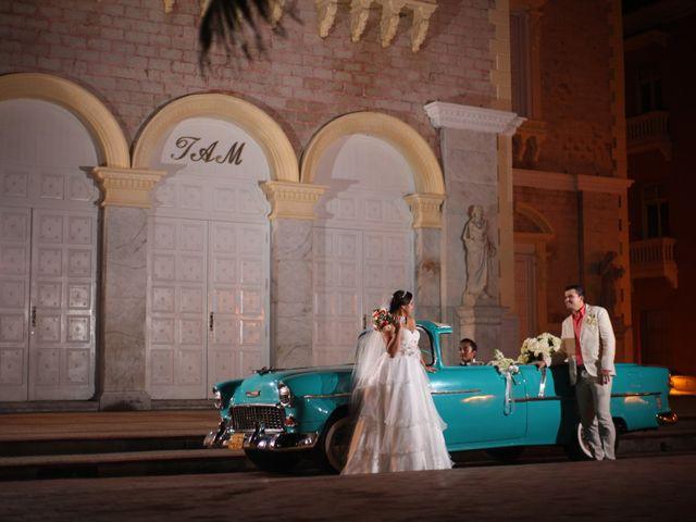 El matrimonio de Sergio y Xedis en Cartagena, Bolívar 35