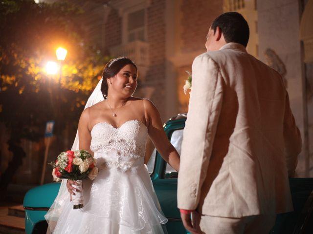 El matrimonio de Sergio y Xedis en Cartagena, Bolívar 36