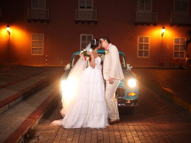 El matrimonio de Sergio y Xedis en Cartagena, Bolívar 37