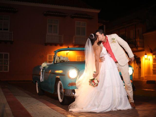 El matrimonio de Sergio y Xedis en Cartagena, Bolívar 38