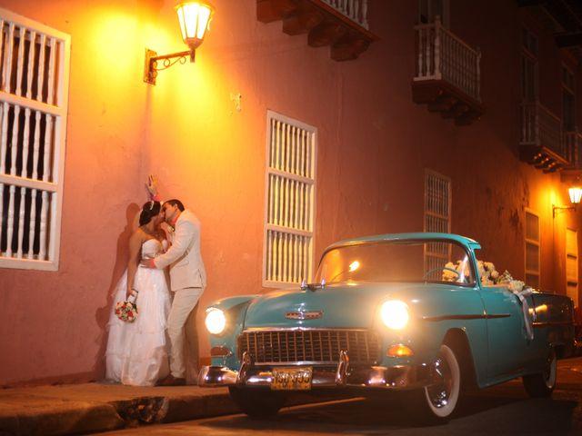 El matrimonio de Sergio y Xedis en Cartagena, Bolívar 39
