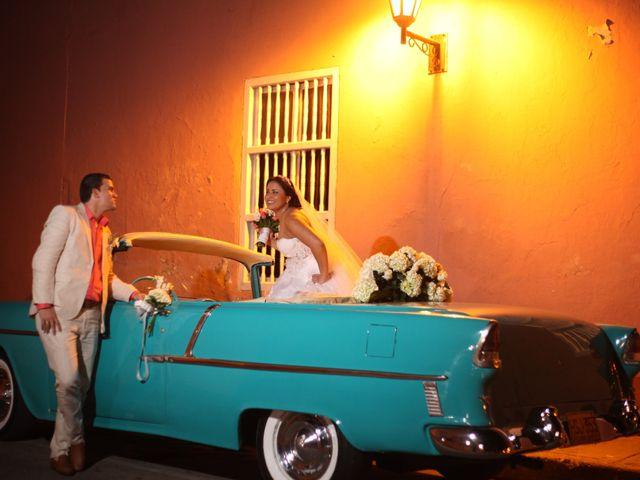 El matrimonio de Sergio y Xedis en Cartagena, Bolívar 40