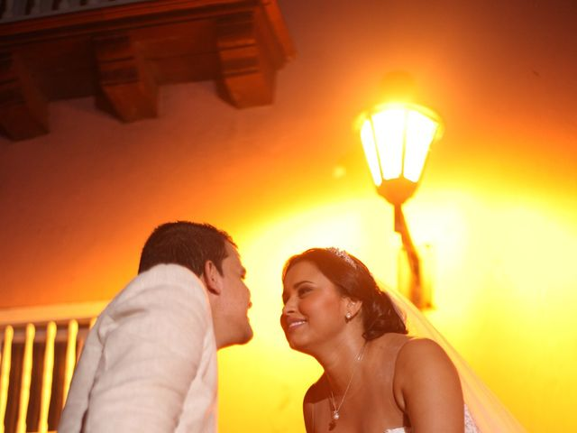 El matrimonio de Sergio y Xedis en Cartagena, Bolívar 41