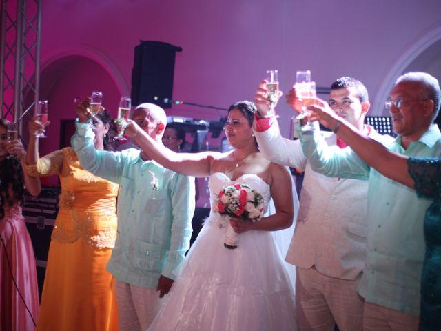 El matrimonio de Sergio y Xedis en Cartagena, Bolívar 47