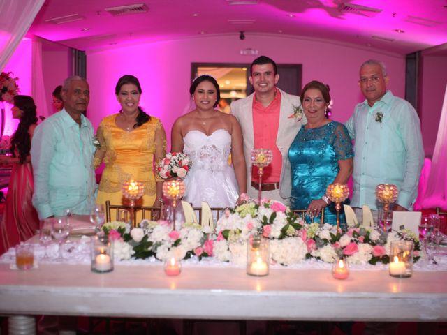 El matrimonio de Sergio y Xedis en Cartagena, Bolívar 50