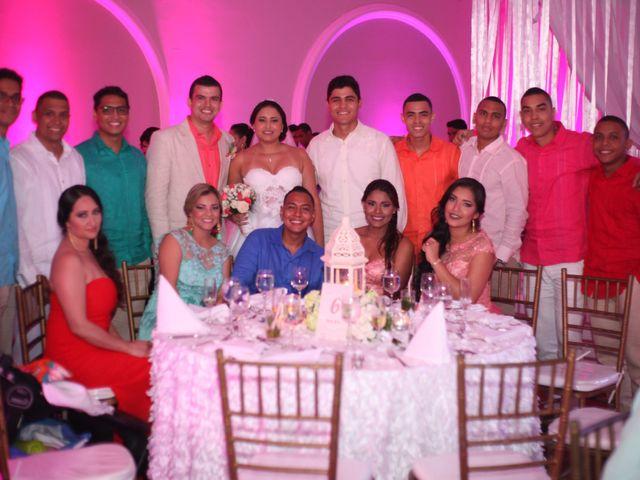 El matrimonio de Sergio y Xedis en Cartagena, Bolívar 51