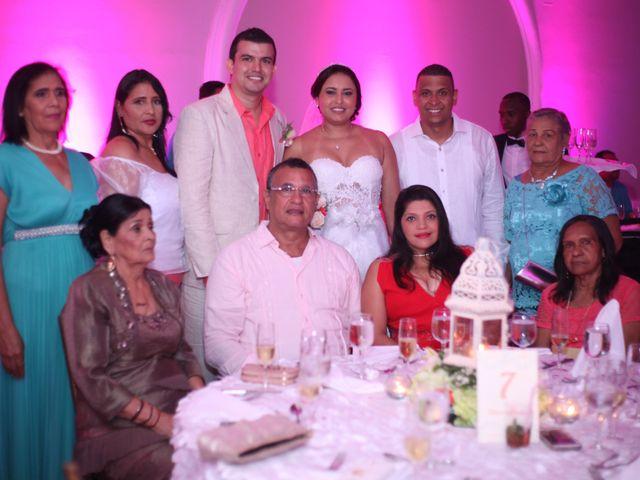 El matrimonio de Sergio y Xedis en Cartagena, Bolívar 52