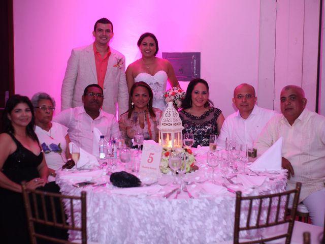 El matrimonio de Sergio y Xedis en Cartagena, Bolívar 53
