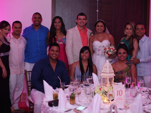 El matrimonio de Sergio y Xedis en Cartagena, Bolívar 54