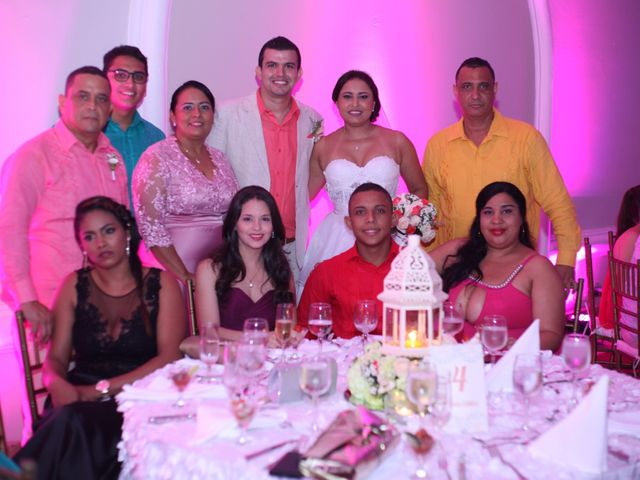 El matrimonio de Sergio y Xedis en Cartagena, Bolívar 56