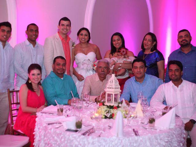 El matrimonio de Sergio y Xedis en Cartagena, Bolívar 57
