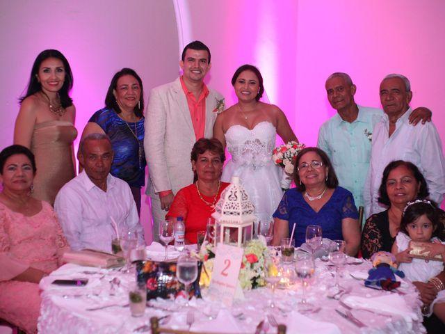 El matrimonio de Sergio y Xedis en Cartagena, Bolívar 58