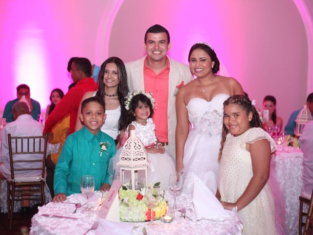 El matrimonio de Sergio y Xedis en Cartagena, Bolívar 65