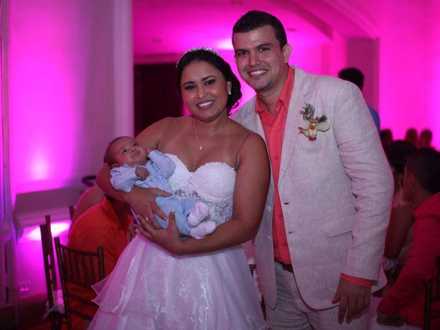El matrimonio de Sergio y Xedis en Cartagena, Bolívar 69