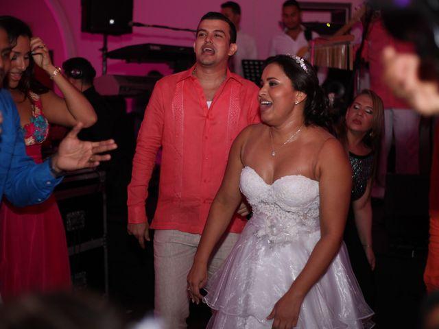 El matrimonio de Sergio y Xedis en Cartagena, Bolívar 78