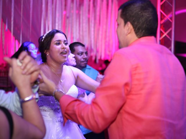 El matrimonio de Sergio y Xedis en Cartagena, Bolívar 80