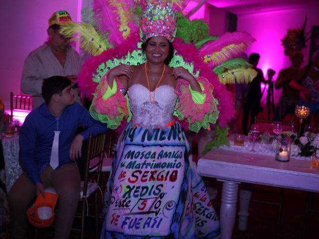 El matrimonio de Sergio y Xedis en Cartagena, Bolívar 82