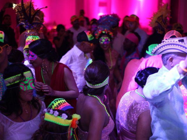 El matrimonio de Sergio y Xedis en Cartagena, Bolívar 90