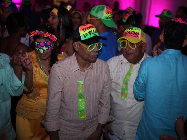 El matrimonio de Sergio y Xedis en Cartagena, Bolívar 94