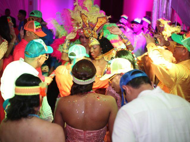 El matrimonio de Sergio y Xedis en Cartagena, Bolívar 96