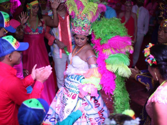 El matrimonio de Sergio y Xedis en Cartagena, Bolívar 99