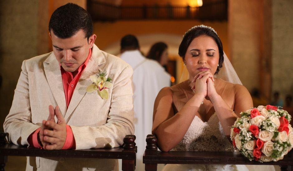El matrimonio de Sergio y Xedis en Cartagena, Bolívar