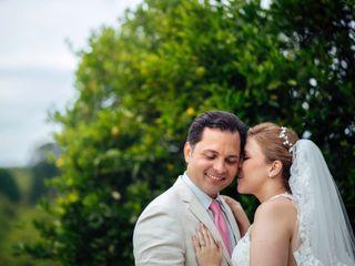 El matrimonio de Juliana y Antonio