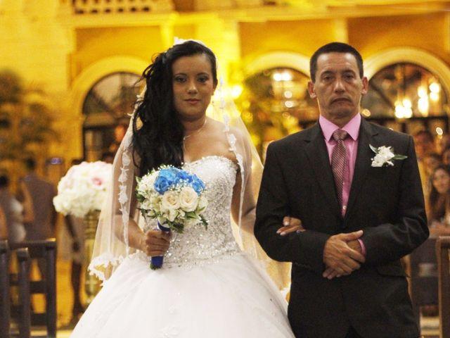 El matrimonio de Leonardo y Juliana  en Cartagena, Bolívar 13