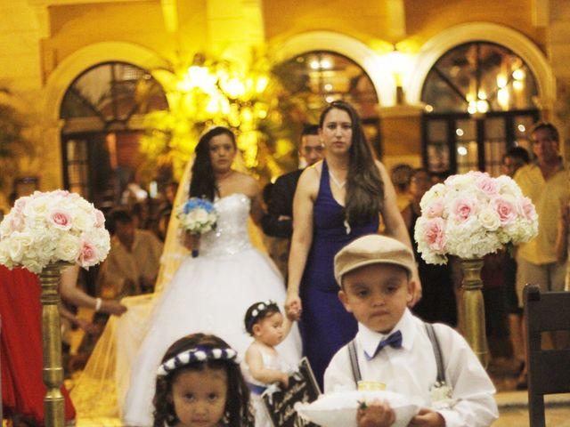 El matrimonio de Leonardo y Juliana  en Cartagena, Bolívar 12